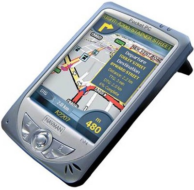 PiN GPS Receiver and Pocket PC