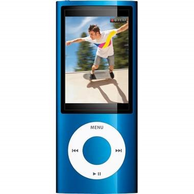 iPod Nano 16GB MP3 Player and Media Player (Blue)