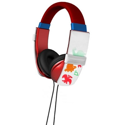 Erasable Doodle Headphones - Red