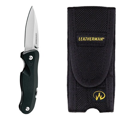 8601140 - Crater c33L Straight Blade Knife Custom Sheath Bundle