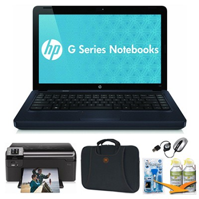14.0` G42-410US Black Notebook Essentials and Wireless Printer Bundle
