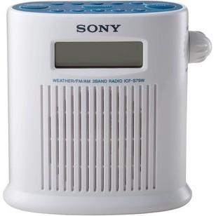 ICF-S79W AM/FM/Weather Band Digital Tuner Shower Radio