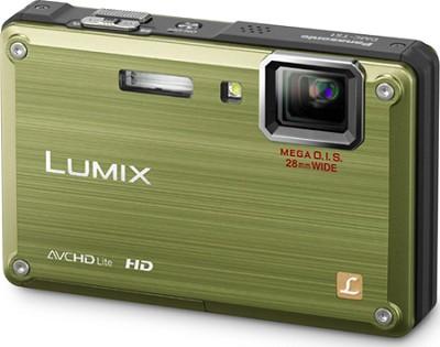 DMC-TS1G LUMIX 12.1 Megapixel TOUGH Digital Camera (Green) - Open Box