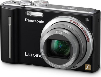 DMC-ZS5K LUMIX 12.1 MP Digital Camera (Black)