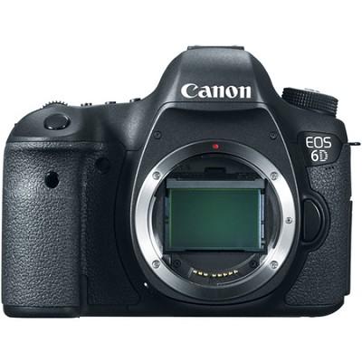 EOS 6D Full Frame 20.2 MP CMOS Digital SLR Camera (Body) Factory Refurbished