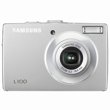 L100 8MP 2.5` LCD Digital Camera (Silver)