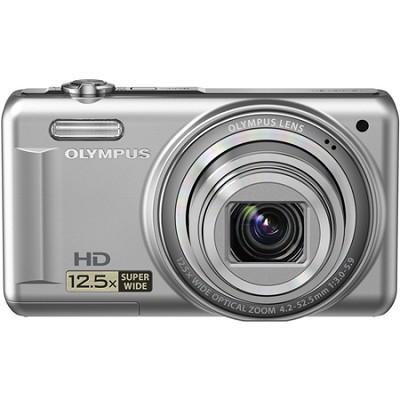 VR-320 14MP 12.5x Super Wide Zoom Silver Digital Camera