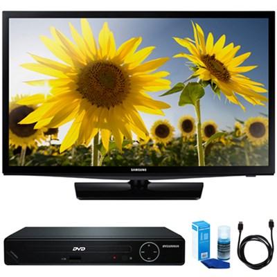 UN24H4500 24-inch HD 720p Smart LED TV w/ HDMI DVD Player Bundle