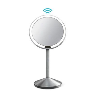 Mini Sensor Mirror Lighted Vanity Mirror, 10x Magnification, 5 inches