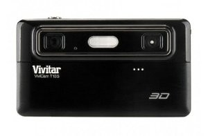 Vivicam 3D T135 12.1MP 5X Digital Zoom Digital Camera Black