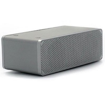 DropNplay Wireless Speaker - Silver