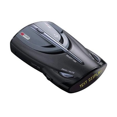 XRS 9745 Voice Alert 15 Band Radar/Laser Detector with New DigiView Data Display