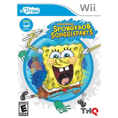 Spongebob Squigglepants - uDraw for Nintendo Wii