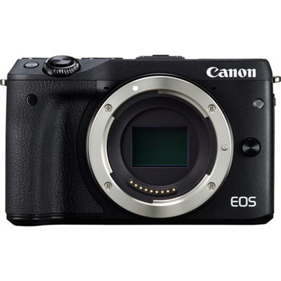 EOS M3 24.2MP Black Mirrorless Digital Camera Body