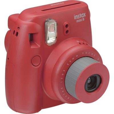 Instax 8 Color Instax Mini 8 Instant Camera - Raspberry - OPEN BOX