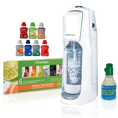 JET Starter Kit in White with 7 Additional Flavors Bundle