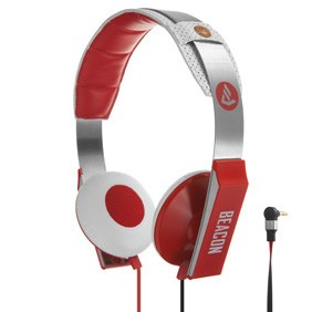 Orion Stereo Headphone with In-Line MIC / Remote Combo - Red