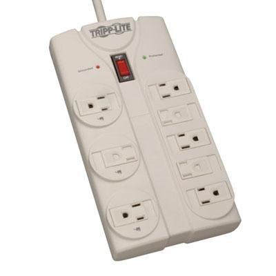 1900J 8-Outlet Surge Suppressor with 8' Cord - TLP808