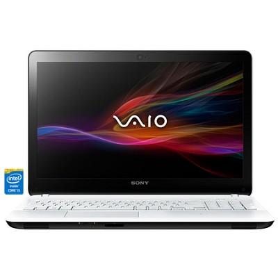 Fit 15E SVF15323CXW 15.5` White Notebook PC - Intel Core i5-4200U Processor