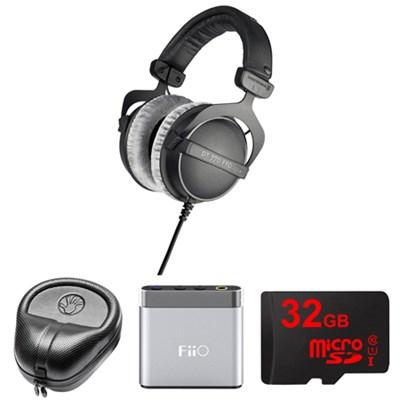 250 Ohms Studio Headphones - DT-770-PRO-250 w/ FiiO A1 Amp. Bundle