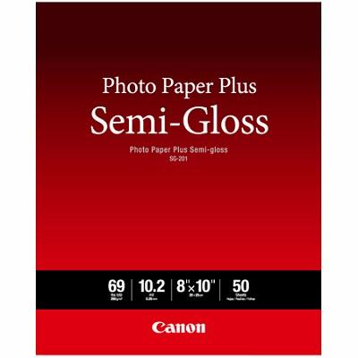 Photo Paper Plus Semi-Gloss 8` x 10` (50 Sheets) (SG-201 8X10) (1686B062)