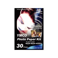 5` X 7` Photo Paper - 30 Sheets and Ribbon Cartridge for 730PS