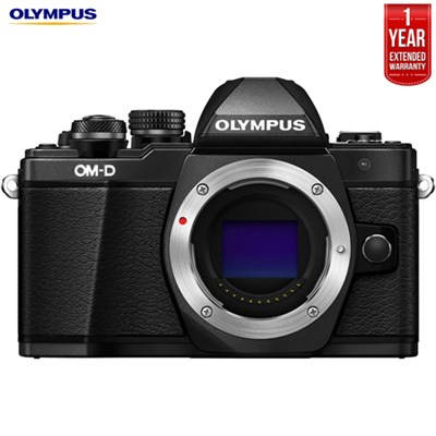 OM-D E-M10 Mark II Micro Four Thirds Camera Body +Extended Warranty- Refurbished