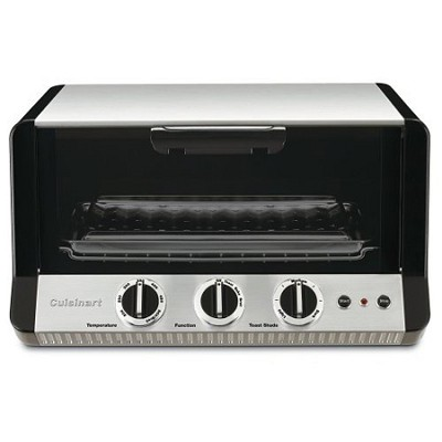 TOB-50 Classic Toaster Oven/Broiler, Brushed Stainless/Black