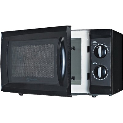 600W Counter Top Microwave Oven, 0.6 Cubic Feet, Black - OPEN BOX