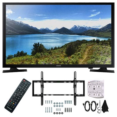 UN32J4000 32-Inch 720p LED TV (2015 Model) with Wall Mount Kit