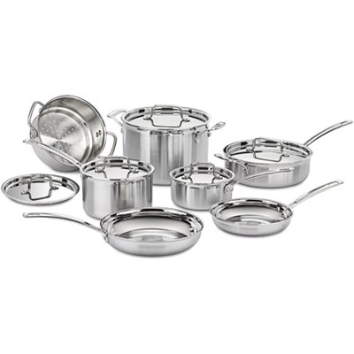 Multiclad Pro Tri-Ply 12 pc. Stainless Cookware Set (Certified Refurbished)