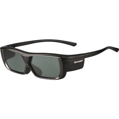 AN3DG20B 3D Glasses - Black