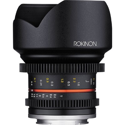 12mm T2.2 Cine Lens for Micro Four Thirds
