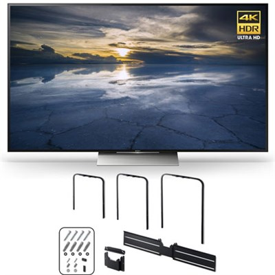 XBR-65X930D 65-Inch Class 4K HDR Ultra HD TV w/ SU-WL810 Slim Wall-Mount Bracket