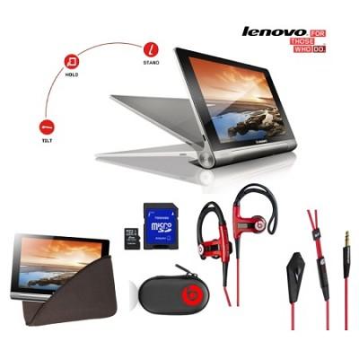 Yoga IdeaTab Quad-core 10.1` W/HD Display/8GB Tablet Ultimate Bundle