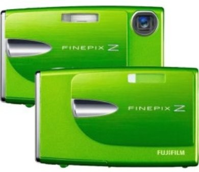 FINEPIX Z20fd 10MP Digital Camera (Wasabi Green)
