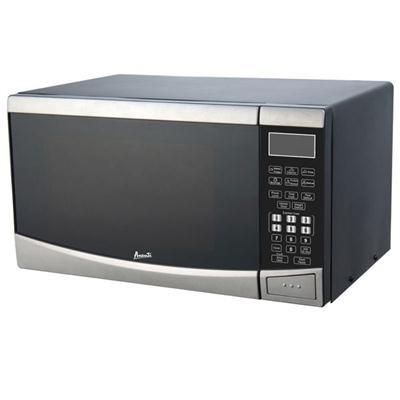 .9CF Microwave SS wBlk Cabinet