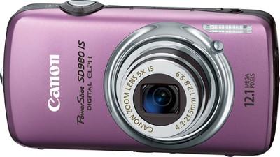 Powershot SD980 IS Digital ELPH Digital Camera (Purple)