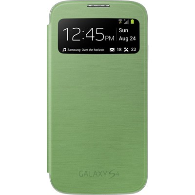 Galaxy S IV S-view Flip Cover Green