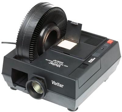5000 AF Slide Projector
