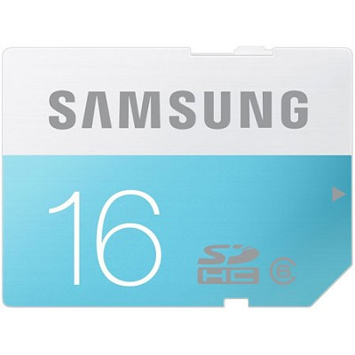 16GB Class 6 SDHC up to 24MB/s - MB-SS16D/AM