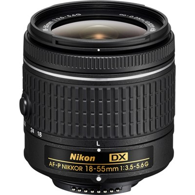 AF-P DX NIKKOR 18-55mm f/3.5-5.6G Lens Refurbished