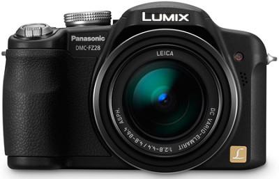 Lumix DMC-FZ28K 10MP Digital Camera w/ 18x Optical Zoom (Black) - OPEN BOX