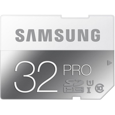 PRO 32GB SDHC Up to 90MB/s Class 10 Memory Card