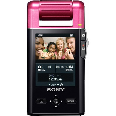 MHS-PM5 bloggie Pink Compact High Definition Camcorder