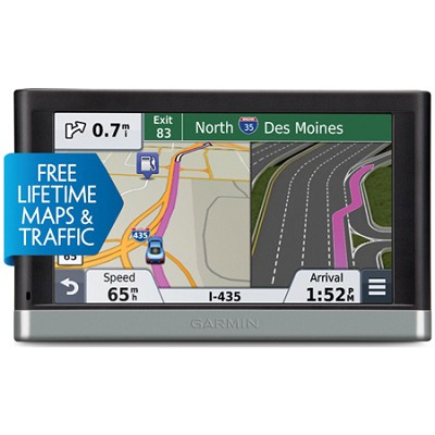nuvi 2597LMT 5` Bluetooth GPS Navigation System with Lifetime Maps and Traffic