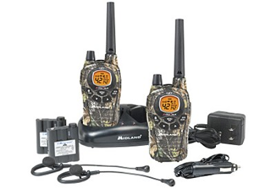 GXT795VP4 36-Mile 42-Channel FRS/GMRS Two-Way Radio (Pair)