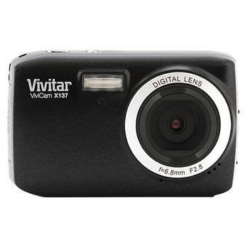 ViviCam X137 10.1 MP HD Digital Camera (Black)