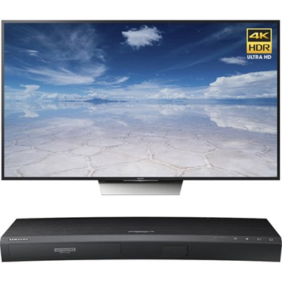 55-Inch Class 4K HDR Ultra HD TV - XBR-55X850D w/ Samsung Disc Player