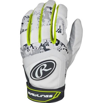 Digi Camo 5150 Series Adult Batting Gloves (Yellow, Medium) 5150BG-OY-89